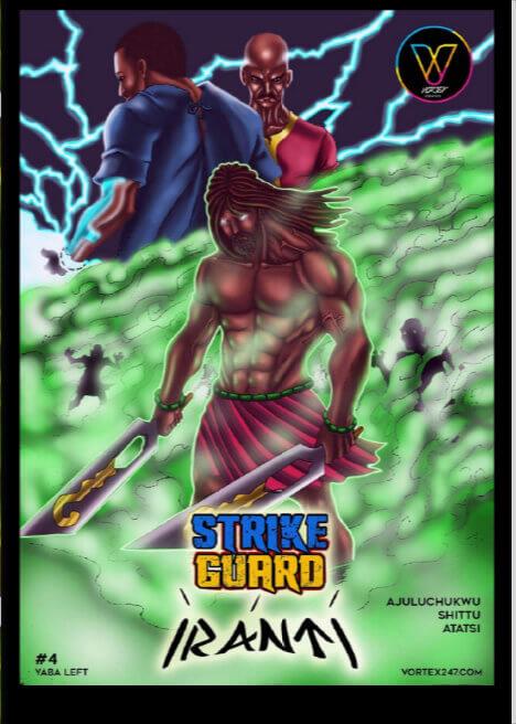 Strike Guard (Iranti) #4- Yaba Left